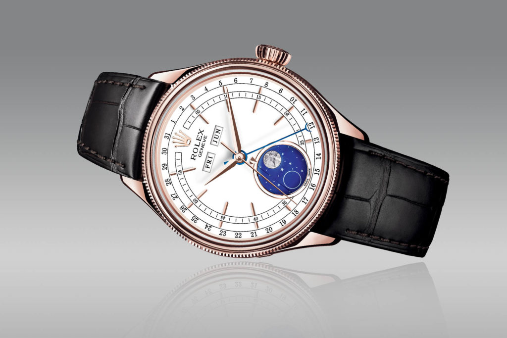 Rolex cellini triple calendar moonphase rolex baselworld for Sorelle ronco rolex