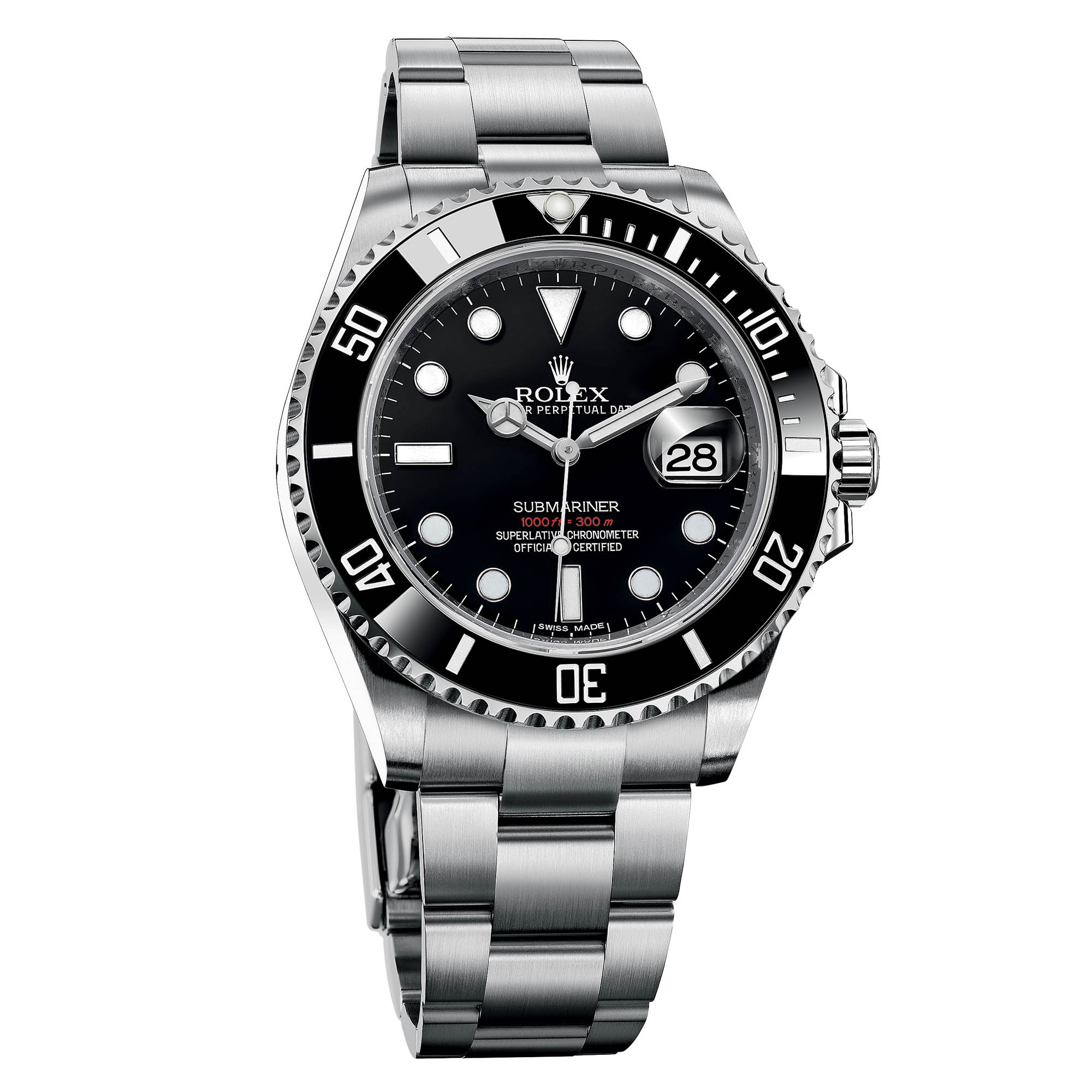 Rolex submariner 126610ln oyster steel bracelet calibre for Sorelle ronco rolex