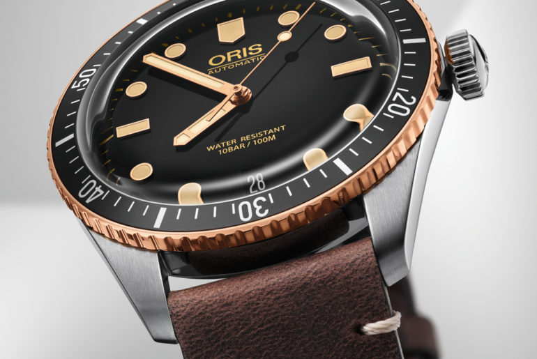 Oris Divers Sixty-Five con lunetta in bronzo