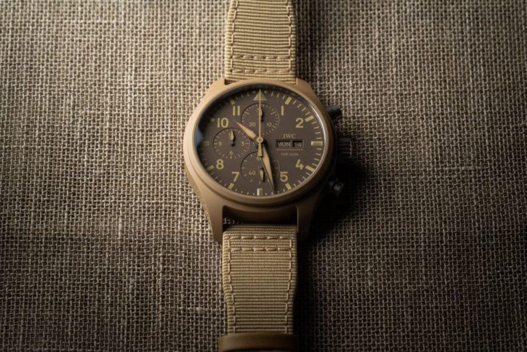 IWC Pilot's Watch Chronograph TOP GUN Edition 'Mojave Desert'