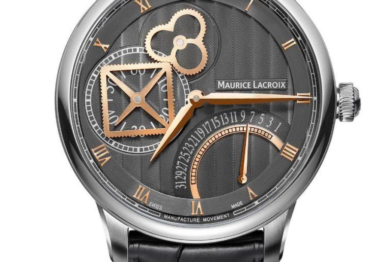 Maurice Lacroix Masterpiece Square Wheel Retrograde 43 mm
