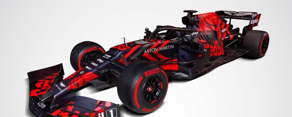Presentata la nuova RB15 del team Red Bull Racing