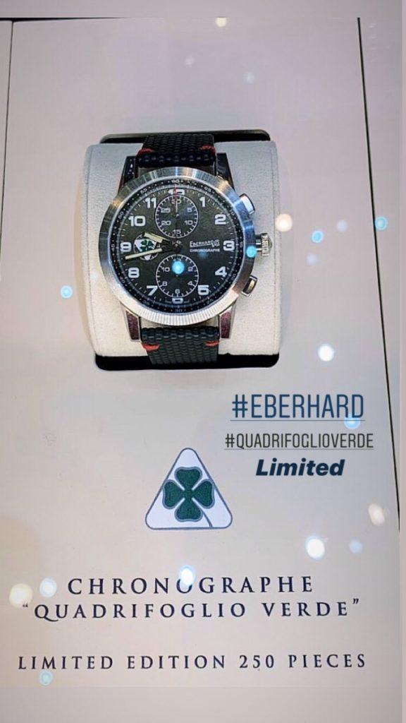 Eberhard & Co. Chronographe Quadrifoglio Verde Limited Edition