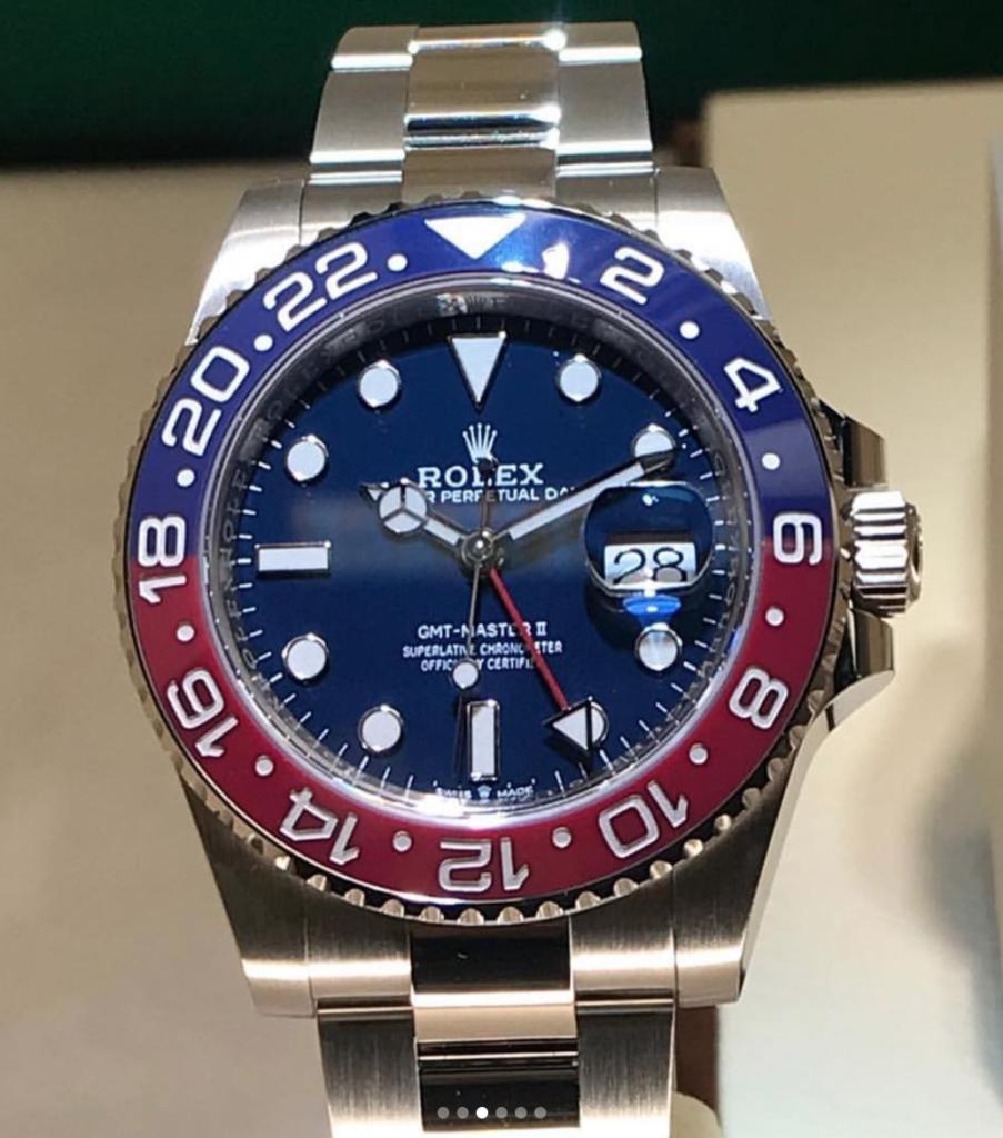 Rolex GMT Master II 2019