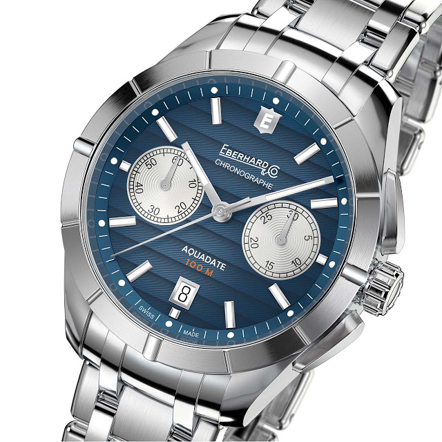 Eberhard Aquadate Chrono 41mm